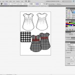 gingham-in-flat-sketch-illustrator