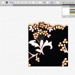 Fashion lace repeat created in Illustrator