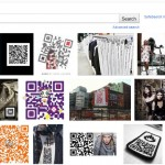 QR code + fashion entered in google images