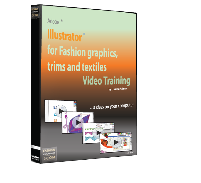 Illustrator CS5 for fashion graphics trims textiles