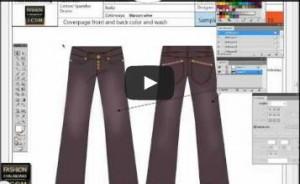 Fashion tech packs in adobe Illustrator