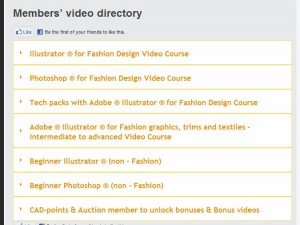 All Access pass for illustrator and photoshop training for fashion