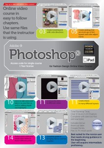 Photoshop-for-fashion-video-course ipad compatible mac and pc