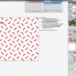 Seamless tile in Illustrator for fashion design 1