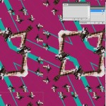 Seamless tile in Photoshop for fashion design 11
