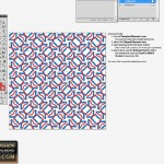 Seamless tile in Illustrator for fashion design 2