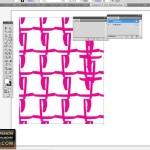 Seamless tile in Illustrator for fashion design 5