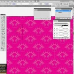 Seamless tile in Illustrator for fashion design 7