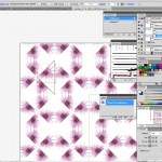 Seamless tile in Illustrator and Photoshop for fashion design 8