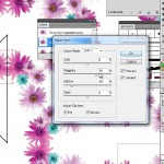 Seamless tile in Illustrator and Photoshop for fashion design 9