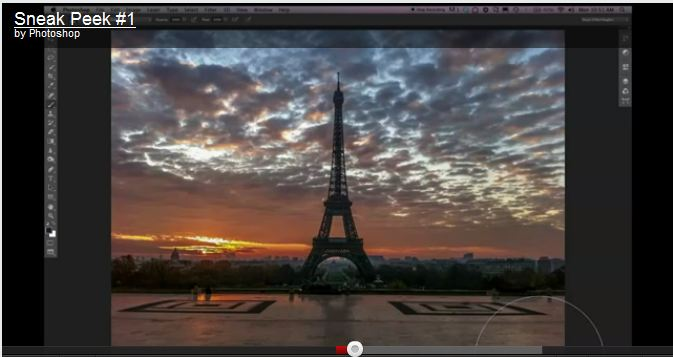 New Photoshop (cs6) user interface (ui) option