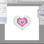 Create tie dye heart with Illustrator and Photoshop