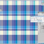 Scale plaid in photoshop