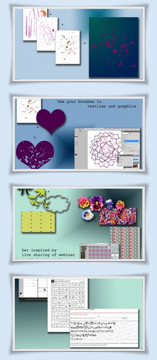Photoshop for Fashion graphics, water colors, fonts and textiles